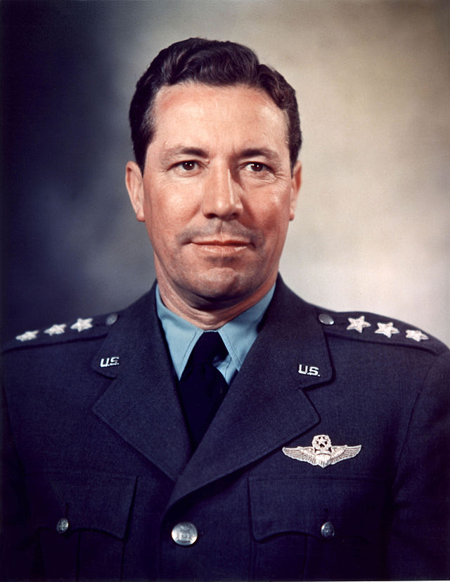 Lt. Gen. Elwood 'Pete' Quesada, commander of the IX Tactical Air Command during the war.