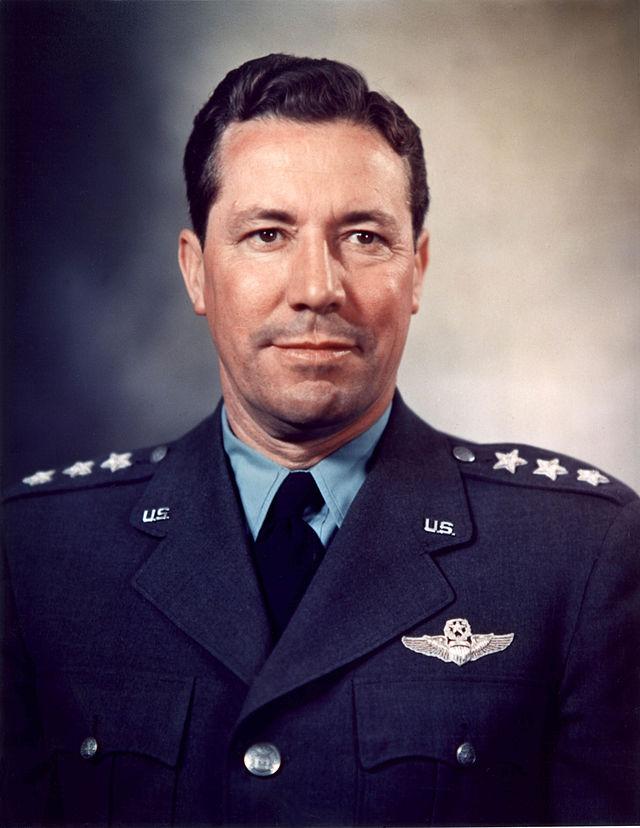 Lt. Gen. Elwood 'Pete' Quesada, commander of the IX Tactical Air Command during the war.