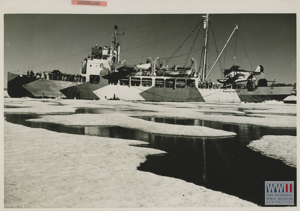 Another view of the USCGC Northland. Source: The National WWII Museum.