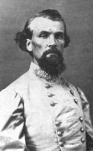 Nathan Bedford Forrest, a Colonel at the time of the battle, was relatively unknown in early 1862. However, he would eventually gain fame for his raids into Union territory and be promoted to Lieutenant General. Source: Public domain.