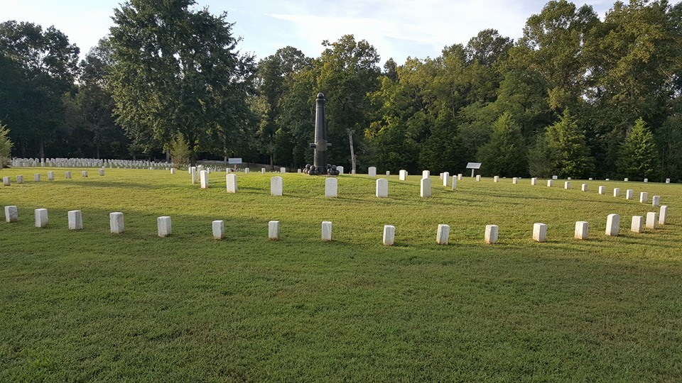 The Fort Donelson National Cemetery, where over 600 Union dead are buried. Source: Author.
