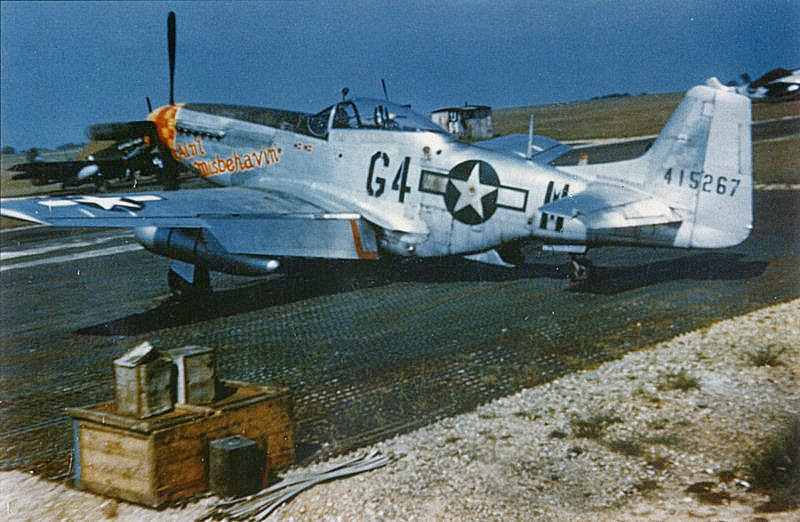A P-51D of the 357th Fighter Group. Source: Wikipedia.