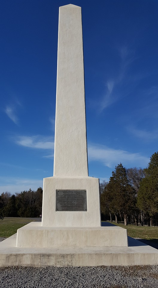 A monument marks the spot where Union artillery halted Breckenridge's attack.