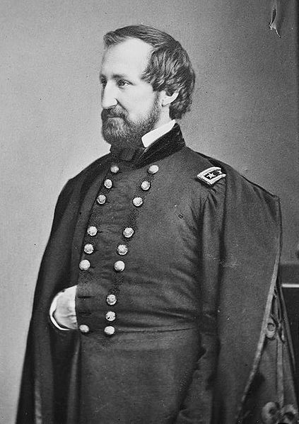MAJOR GENERAL WILLIAM ROSECRANS. AN 1842 GRADUATE OF WEST POINT, ROSECRANS HAD TAKEN COMMAND OF THE ARMY OF THE CUMBERLAND FROM MAJOR GENERAL DON CARLOS BUELL, WHO HAD BEEN CRITICIZED FOR HIS LACK OF ACTION.