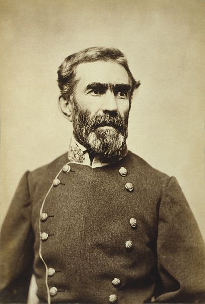 GENERAL BRAXTON BRAGG WAS THE COMMANDER OF THE CONFEDERACY'S ARMY OF THE TENNESSEE. A WEST POINT GRADUATE FROM THE CLASS OF 1837, BRAGG WAS HIGHLY SUSPICIOUS OF THE MEMBERS OF HIS STAFF AND EXTREMELY DISLIKED. DESPITE ATTEMPTS BY HIS STAFF TO REMOVE HIM, HE REMAINED IN COMMAND OF THE ARMY OF THE TENNESSEE.