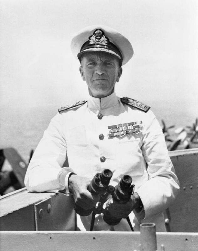 As the senior Royal Navy officer on the ground, at-that-time Captain William Tenant (later Admiral Sir William Tenant) was in charge of overseeing evacuation efforts at Dunkirk. Photo: Wikipedia.