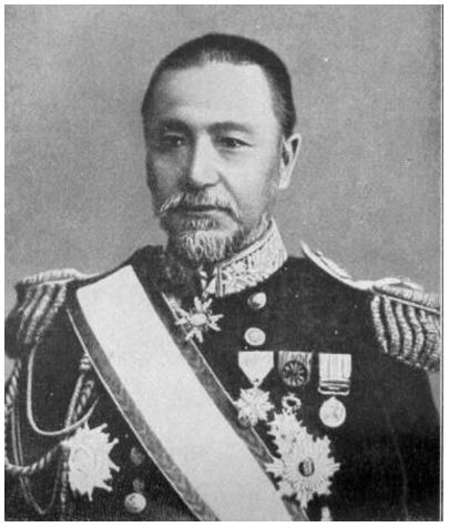 MARSHAL-ADMIRAL THE MARQUIS TOGO HEIHACHIRO. BORN ON JANUARY 27, 1848, IN KAGOSHIMA PREFECTURE, TOGO WAS A MEMBER OF THE JAPANESE NAVY FROM THE AGE OF 15. HE SPENT MUCH OF THE 1870S STUDYING IN ENGLAND, RETURNING TO JAPAN IN 1878. GIVEN VARIOUS COMMANDS AND SEEING COMBAT IN THE SINO-JAPANESE WAR OF 1894-1895, TOGO WAS MADE COMMANDER IN CHIEF OF THE COMBINED FLEET IN 1903. HE HELD THIS COMMAND THROUGH THE RUSSO-JAPANESE WAR, AND WAS ULTIMATELY MADE MARSHAL-ADMIRAL, EQUIVALENT IN RANK TO THE US NAVY'S FLEET ADMIRAL. HE DIED ON MAY 30, 1934 AT AGE 86. PHOTO: WIKIPEDIA.