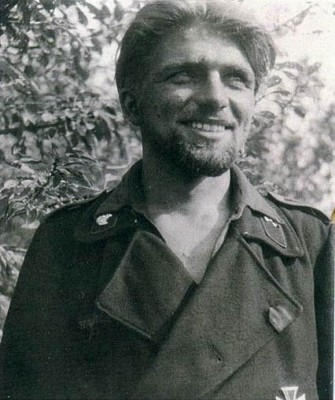 Kurt Knispel, the highest-scoring tank commander in military history. Knispel was killed shortly before the end of the war. Photo source: Wikipedia.