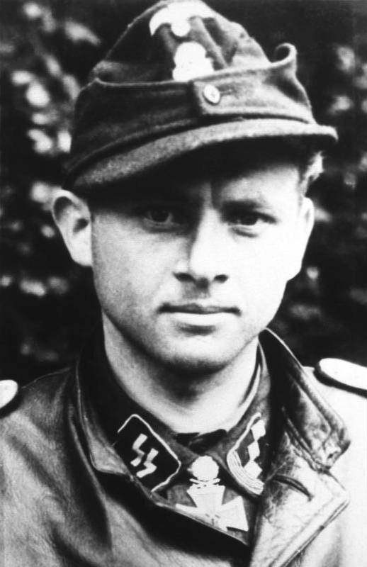 Michael Wittmann, another high-scoring tank ace who scored the majority of his kills in Tigers. Photo source: Wikipedia.
