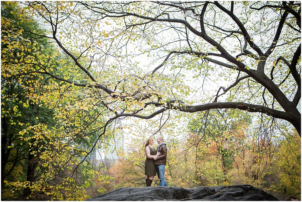 @Amy Sims Photography   New York Wedding Photography   Shelley & Eric   Central Park   Fall Engagement Shoot