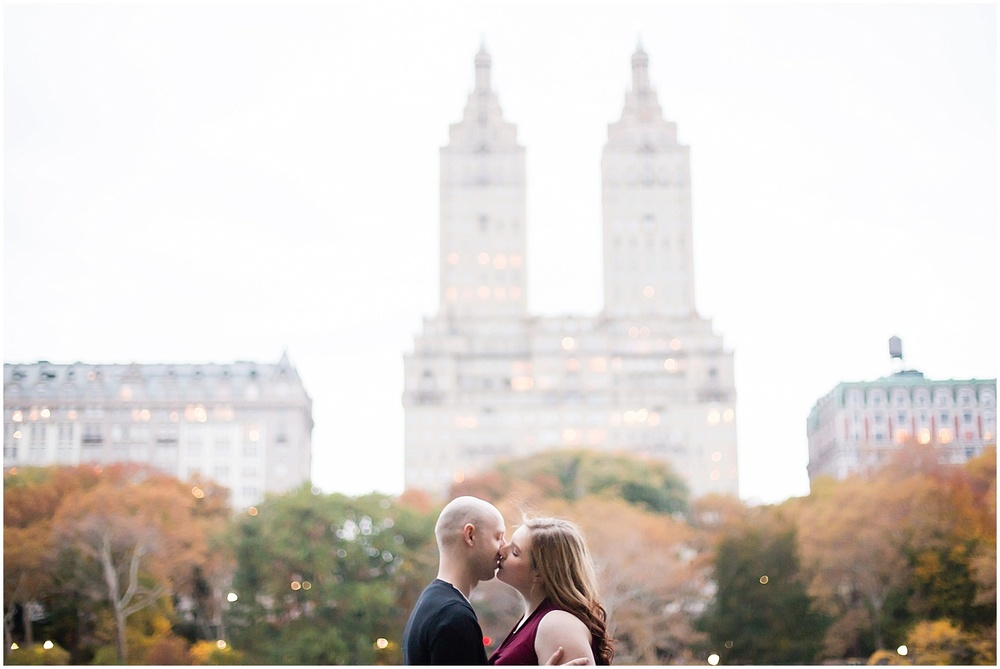 @Amy Sims Photography | New York Wedding Photography | Shelley & Eric | Central Park | Fall Engagement Shoot