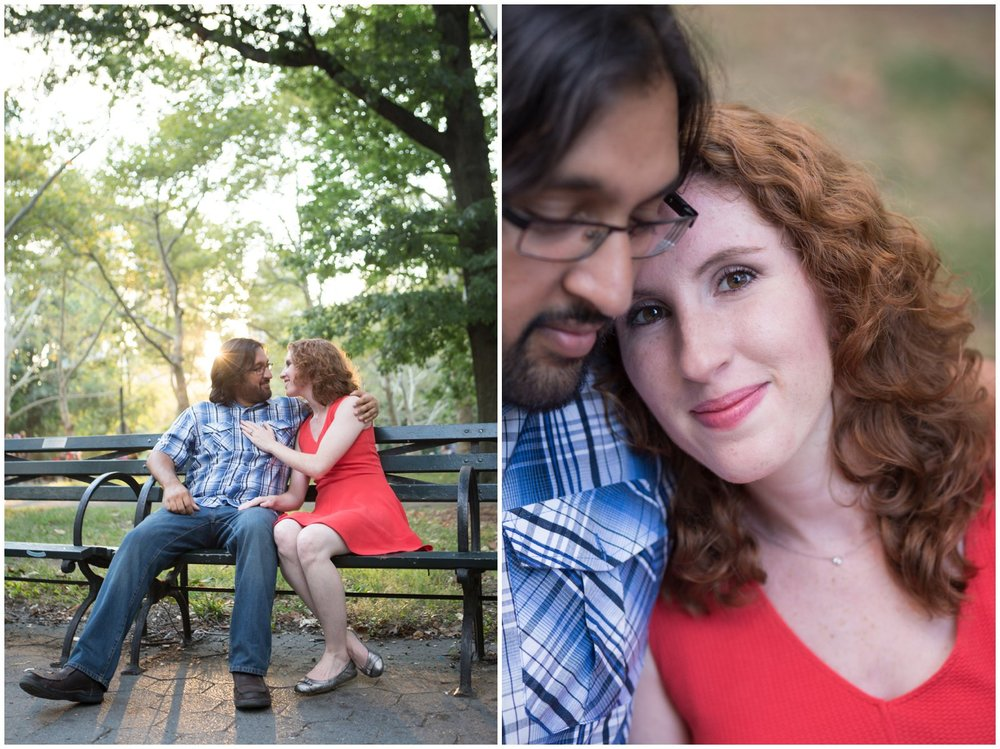 @Amy Sims Photography | New York Wedding Photography | Kelsey & Anish | Central Park l Engagement Shoot