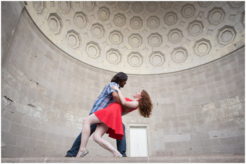 @Amy Sims Photography | New York Wedding Photography | Kelsey & Anish | Central Park l Engagement Shoot | Dancing in the Bandshell