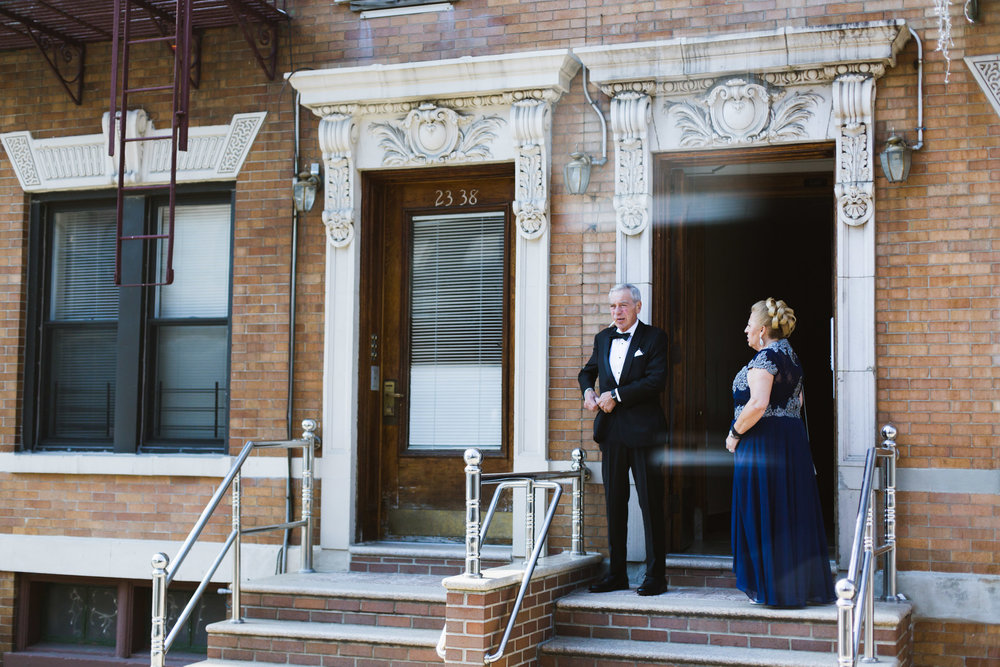 @Amy Sims Photography | New York Wedding Photography | Astoria Queens | Father of Groom smokes