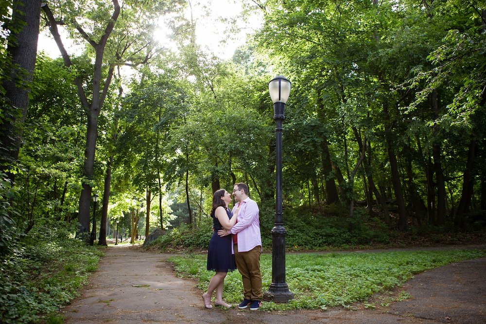 @Amy Sims Photography | New York Wedding Photography | Heather & Ian | Forest Hills | Forest Park | Engagement Shoot