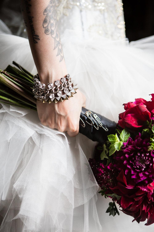 My Moon || Brooklyn Wedding || Same Sex Wedding || Edgy Wedding