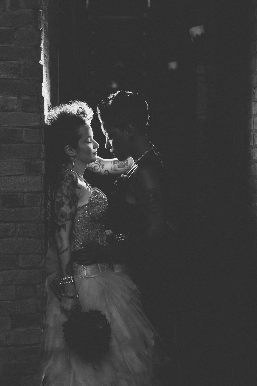 My Moon    Brooklyn Wedding    Same Sex Wedding    Edgy Wedding