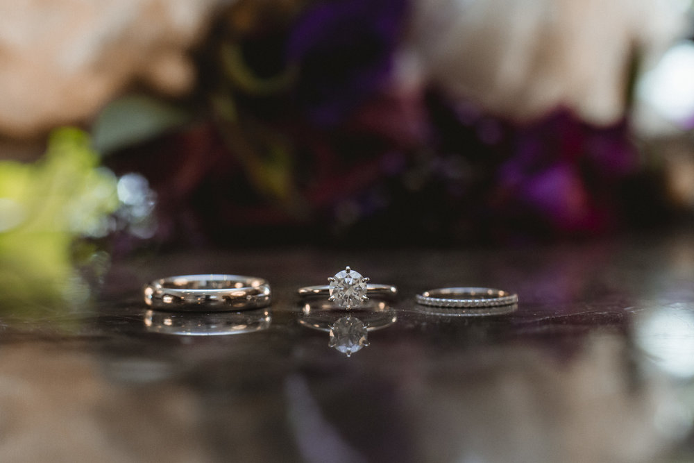 Wedding Rings - Estate at Florentine Gardens wedding - Hudson Valley Wedding - Kelsey & Anish's wedding - Amy Sims Photography