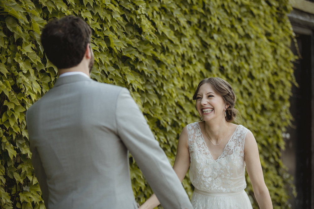 Amy Sims Photography | New York Wedding Photography | Williamsburg Wedding | Brooklyn Wedding | The Green Building | First Look