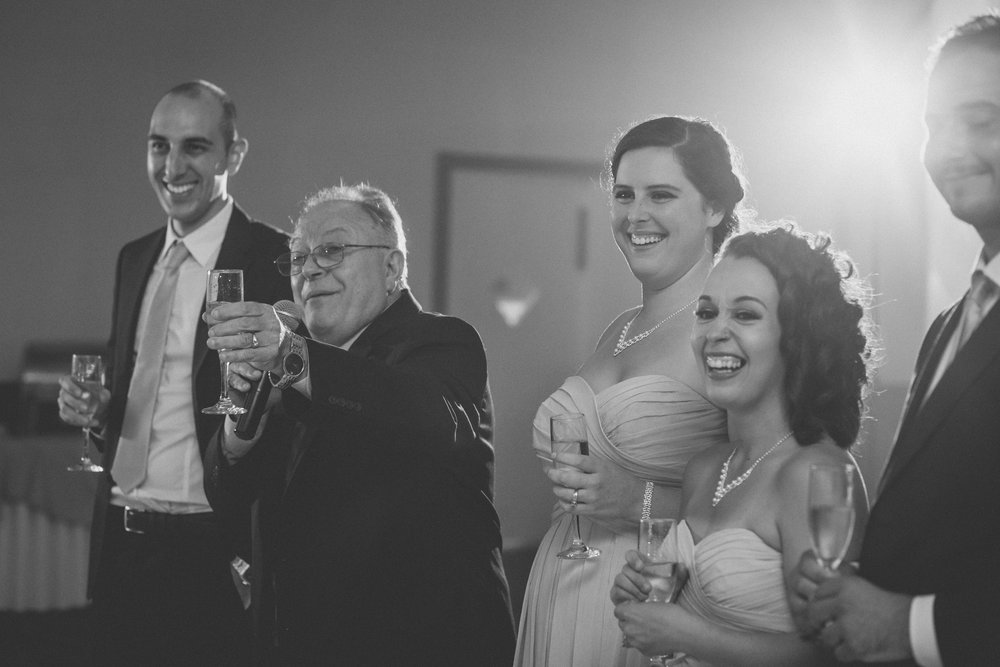 Wedding toasts | Scavello's on the Island | Manhattan wedding | Bronx Wedding | Cathy & Antonello's wedding | Amy Sims Photography