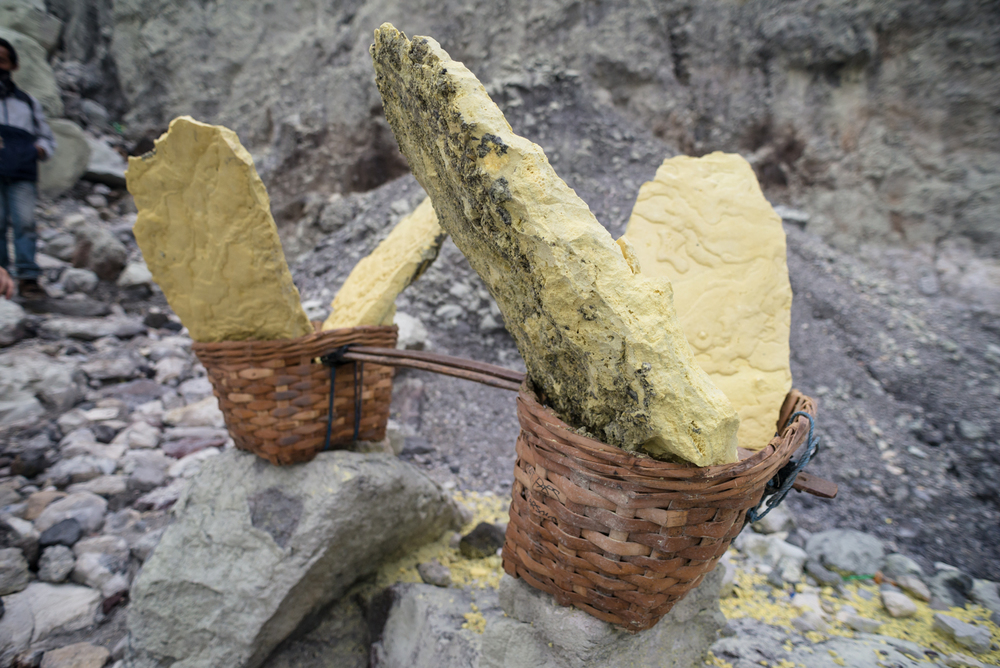 70kg heavy of Sulphur