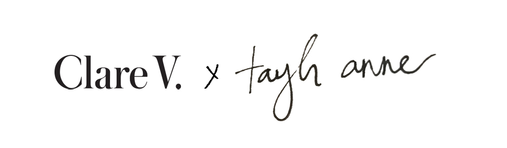 Clare V. x Taylr Anne