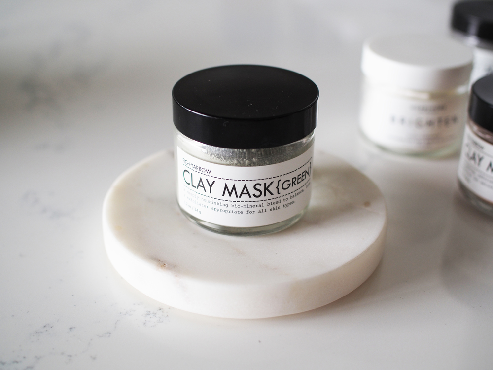 Five Masks You Need In Your Daily Routine Herbivore Fig+Yarrow Taylr Anne Beauty