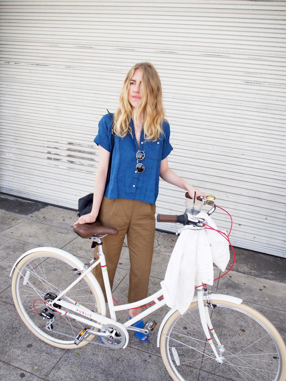 Public Bikes Santa Monica x Taylr Anne