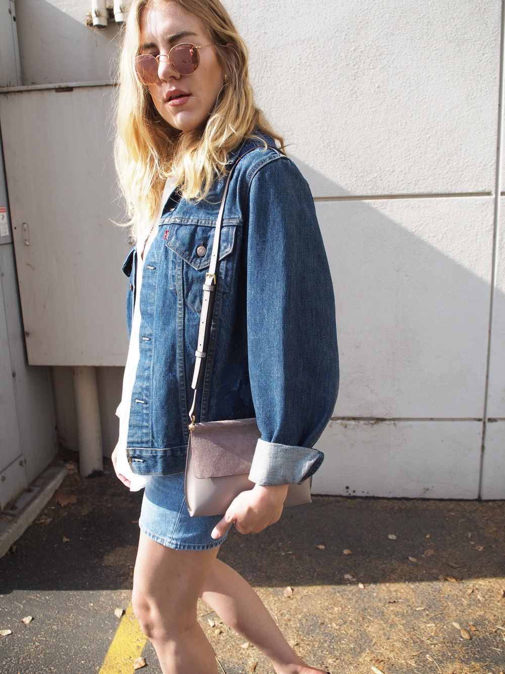 Levi's Denim M.i.h Jeans HiEleven Purse Fifteen Twenty Casual Street Look x Taylr Anne