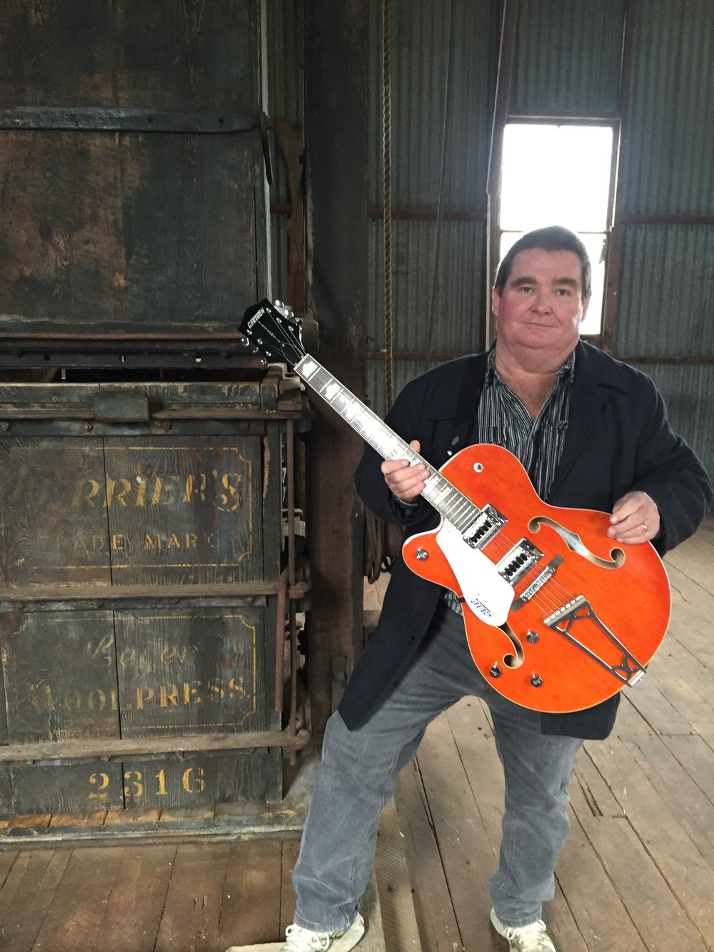 Peter Starr - Canowindra Musician early development for the Shearers Ballet at the CORRIDOR project