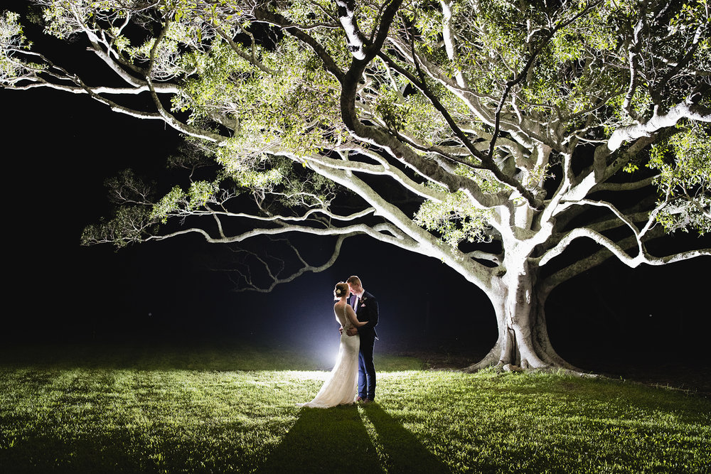 Brisbane wedding photographers - night photos