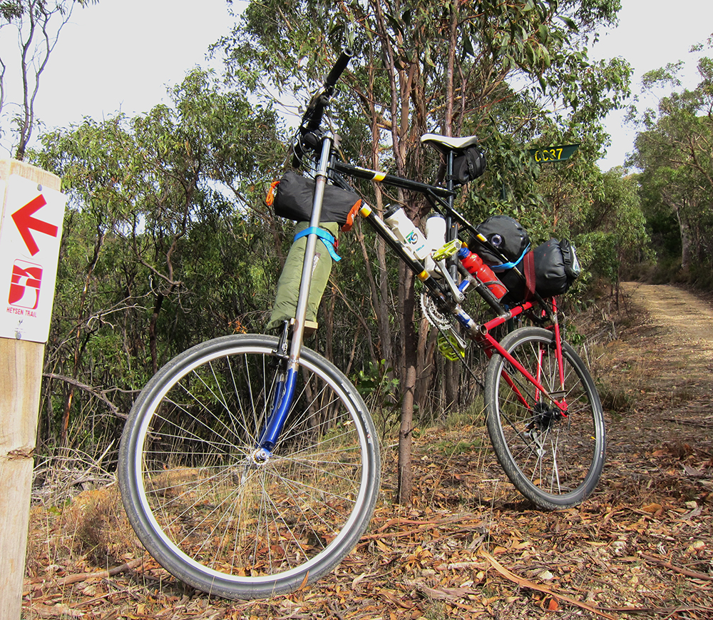 James Dodd,  Heysen Tall Bike Adventures,  2013. Courtesy of the artist  and Hugo Michell Gallery, Adelaide .
