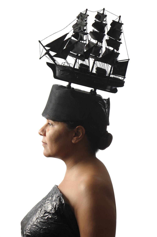 Ali Gumillya Baker,  Sovereign Fleet Black , 2013, archival print. Courtesy the artist.