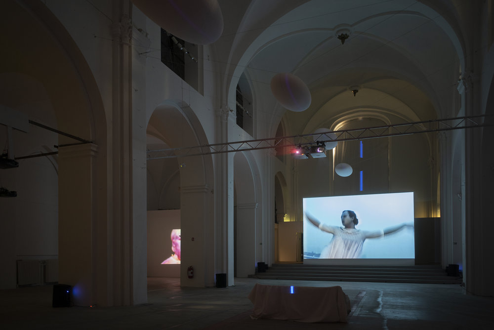 Anohni,  Miracle Now , installation view, Nikolaj Kunsthal, 2018.