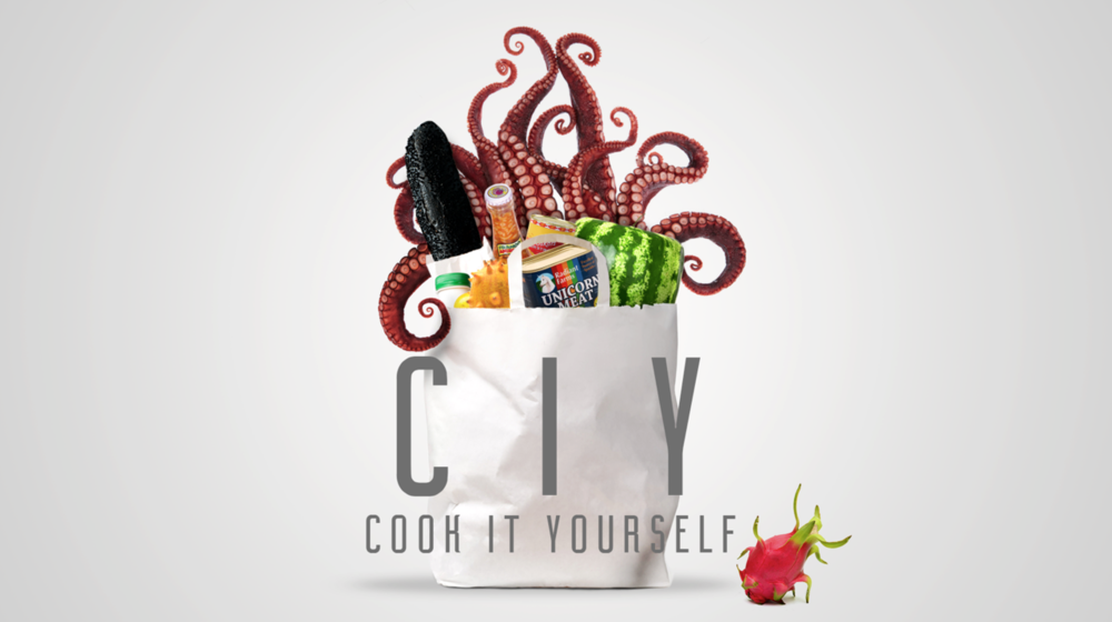 """CIY - Cook It Yourself<br><FONT SIZE=""""1"""">Comedy factual entertainment</FONT>"""
