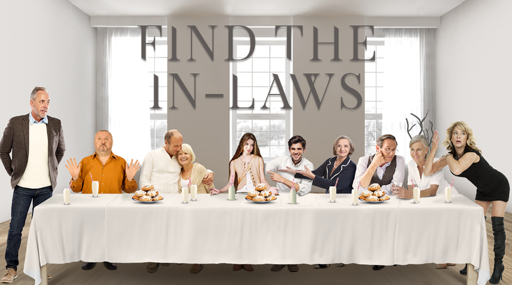 """Find the In-Laws<br><FONT SIZE=""""1"""">Reality comedy</FONT>"""