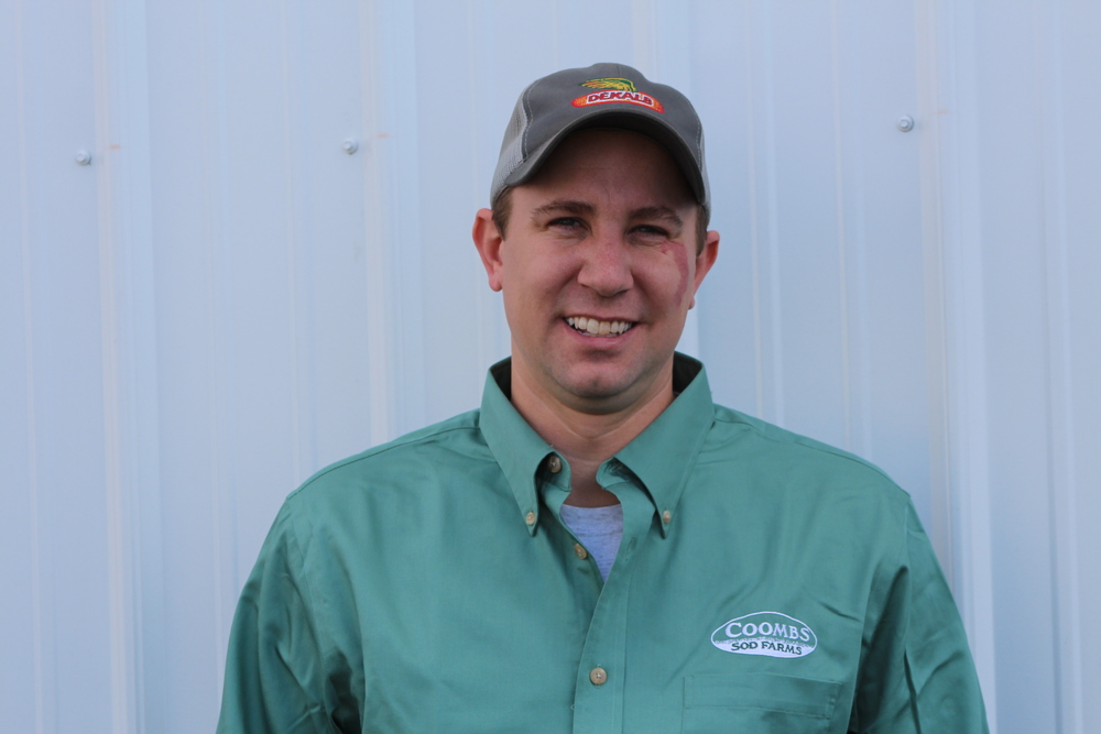 John Coombs Jr. - john@coombsfarms.com  john is a 2005 graduate of delaware valley college with an agronomy degree and a minor in agribusiness. he followed his dream to join the family farm full time and has since assumed the role of farm manager and spends much of his time custom fabricating equipment for various crops. his agronomic interests lead to the start of their fertilizer facility, leased to helena chemical company. he is an active member of the ag community serving on the salem county board of agriculture and former officer in the alpha gamma rho beta si chapter alumni board. he can often be found working alongside his own sons, lee (5) and sam (3) teaching them the ways of the farm. in 2007, he married his high school sweetheart, mary colson, who runs a floral design business ( A Garden party ) at the farm.