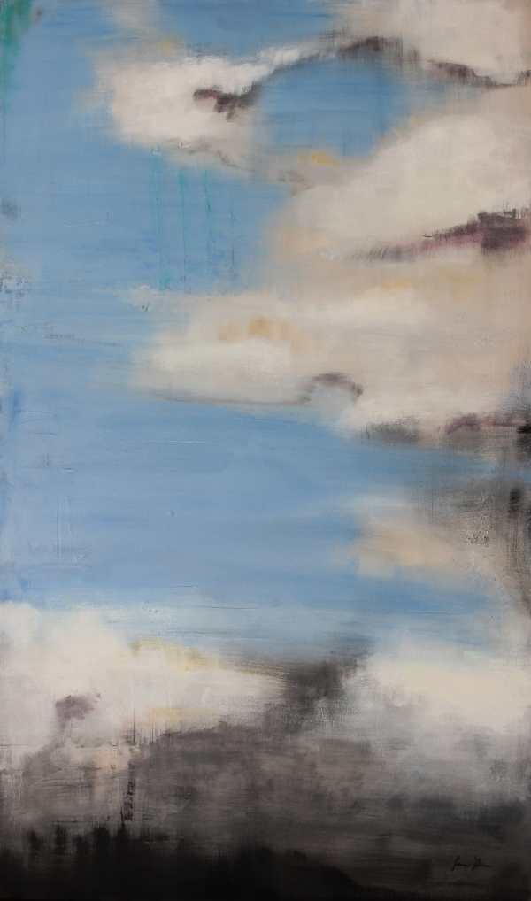 "Azure Sky 36"" X 60"" Acrylic on Canvas"
