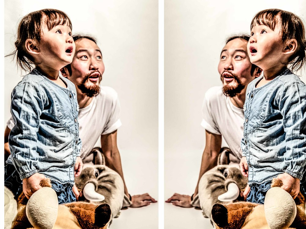 Mirrored Portraits of Bluedy Wong, Hairstylist at Hair Culture Ltd (HK) (W/ Greta Wong)