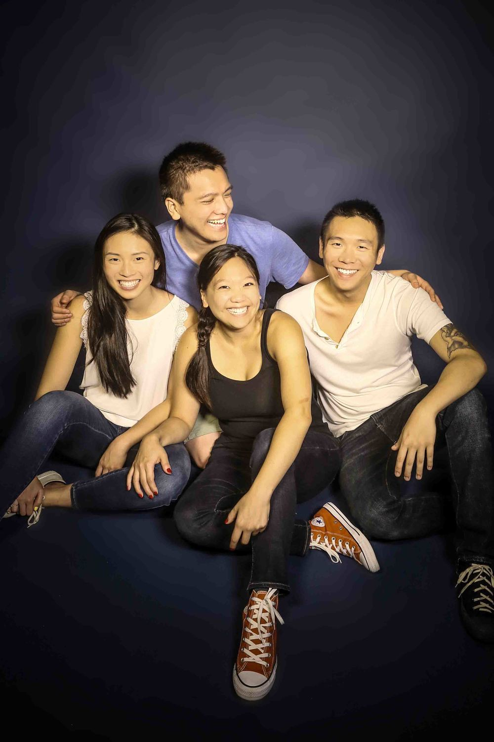 Portrait of The Chang Siblings