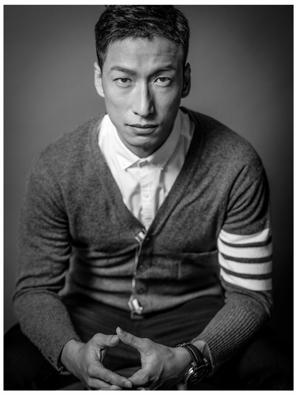 Portrait of Jackal Wong, Hairstylist at La Biosthetique Paris (HK)