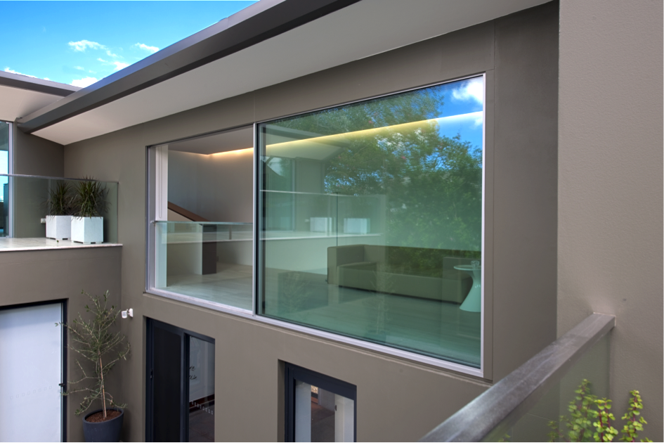 vitrocsa minimal large sliding glazed panel not Skyframe
