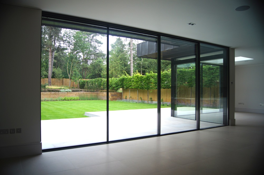 Vitrocsa large glazed panels minimal windows not Skyframe
