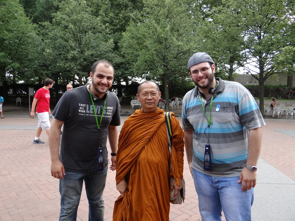 monk at Statue of Liberty.jpg