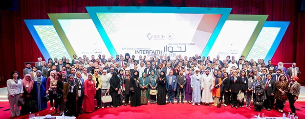 The 12th Doha Conference for Interfaith Dialogue in Doha, Qatar.