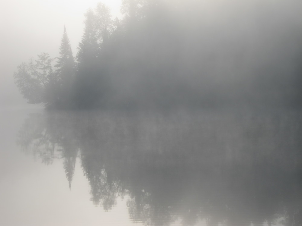 Dusk on Hidden Lake