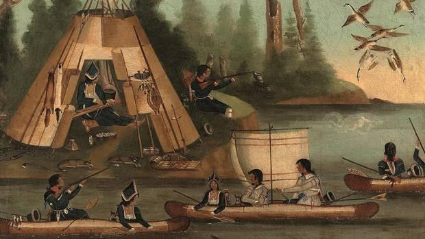 Miq'Maq Indians of the Gaspe