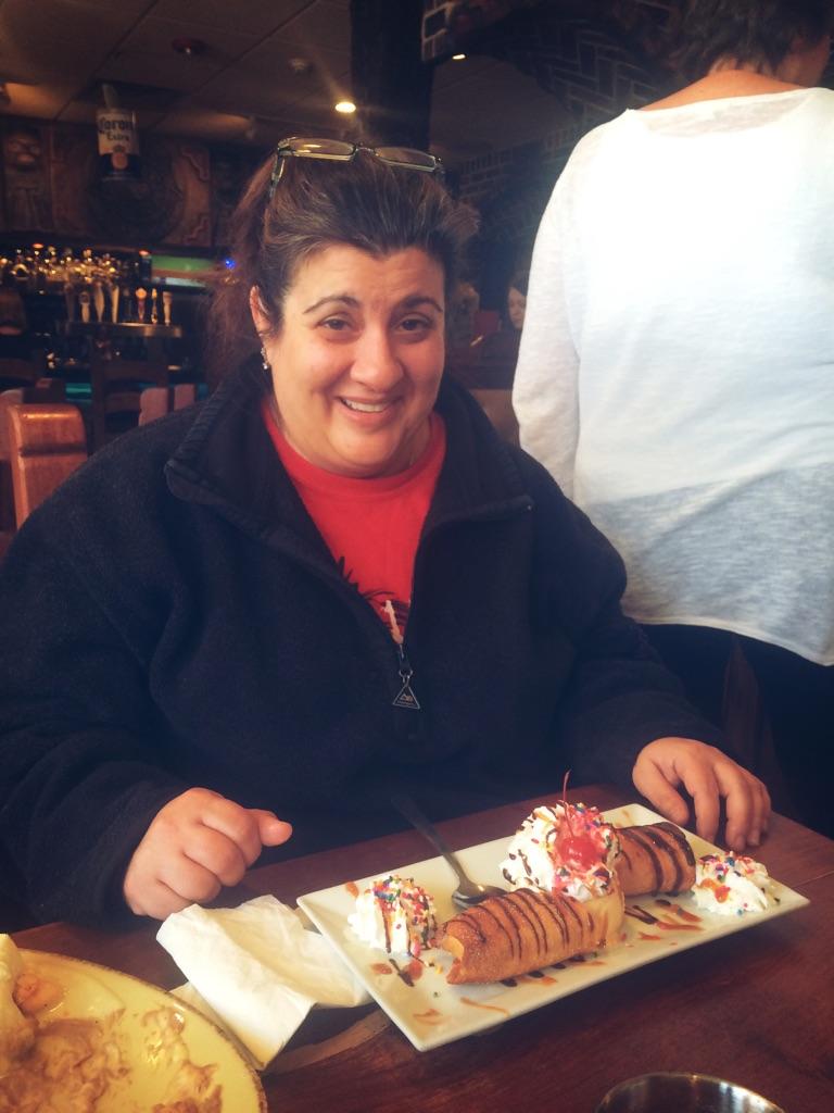 Mom at La Tolteca