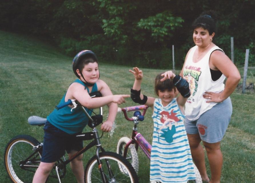 Randy, Me, and Mom