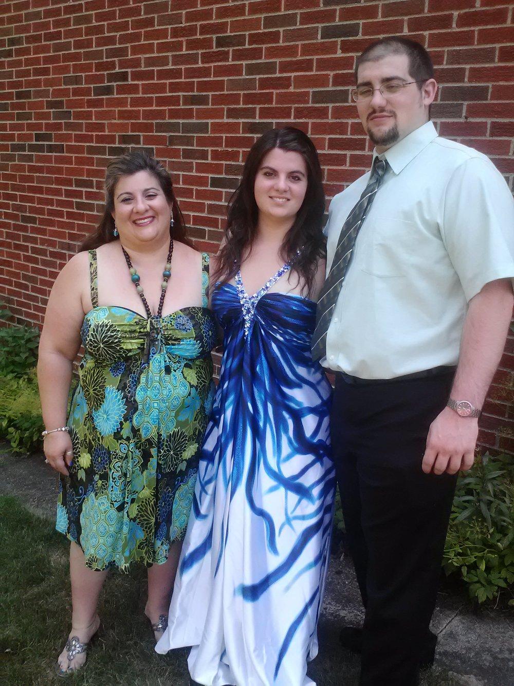 Mom, Me, and Randy